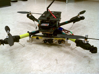 Picture of HAWK quadrotor helicopter
