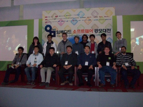 Picture of most of the international competitors